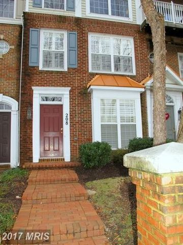 208 Fallsgrove Blvd Unit 13, Rockville, MD 20850