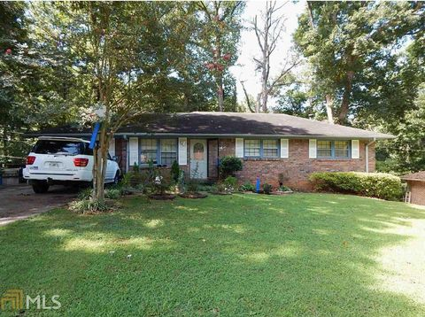 Strange 1262 Woodleigh Rd Sw Marietta Ga 30008 Home Interior And Landscaping Elinuenasavecom