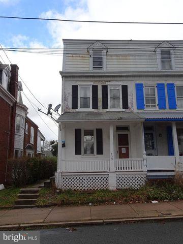 459 N Franklin St, Pottstown, PA 19464