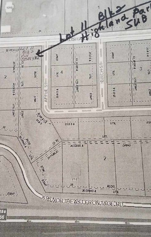 Blk 2 N Nw Apple St Unit Highland Sub Add Park Lot 11 Mount Hope, KS 67108