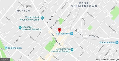 K And A Map Of Germantown Phila on
