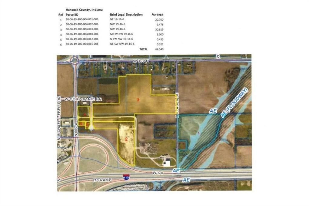 600 W North St, Greenfield, IN 46140