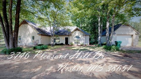 Photo of 3746 Pleasant Hill Dr, Nesbit, MS 38651