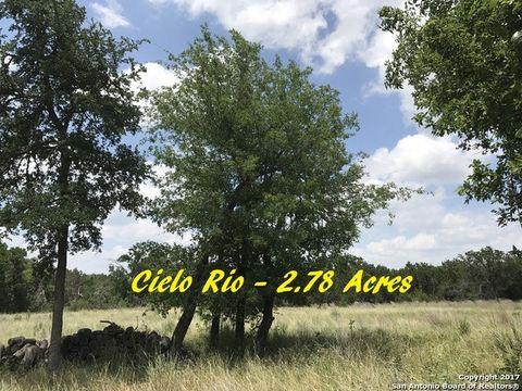 Rio Ct Lot 3, Pipe Creek, TX 78063
