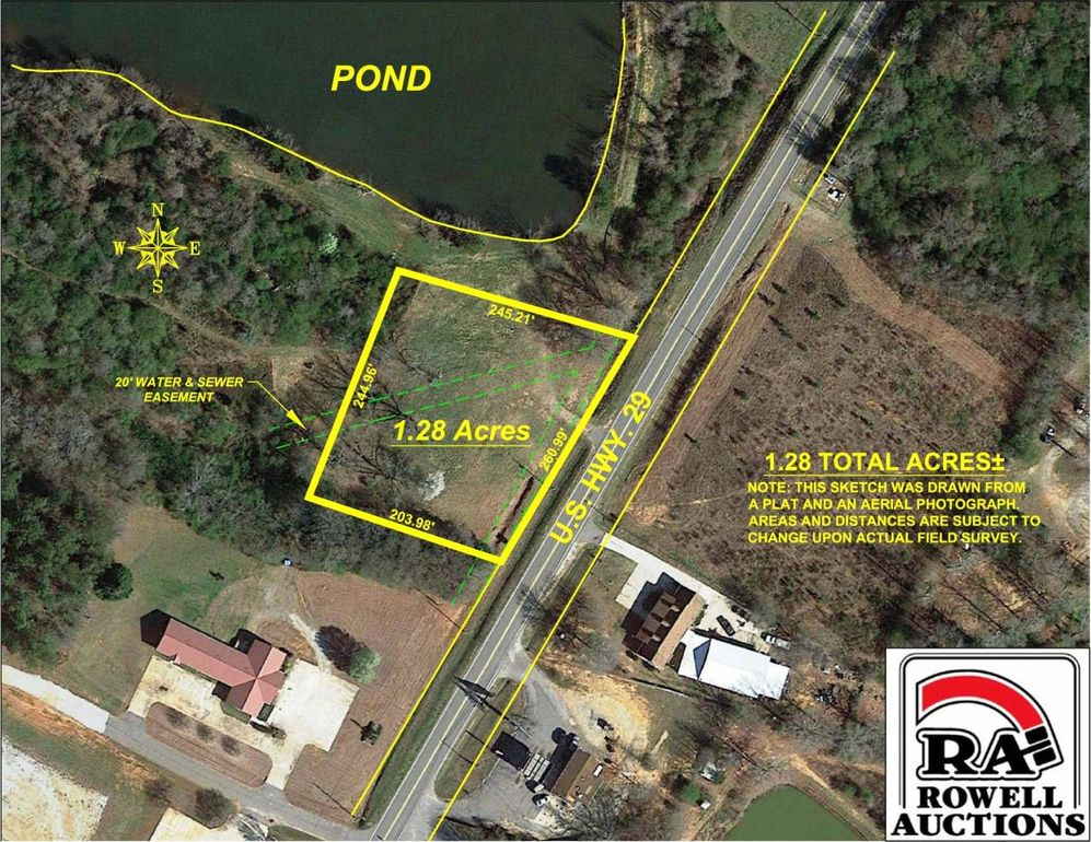 801 Us Highway 29 N, Danielsville, GA 30633 - Land For Sale and Real ...