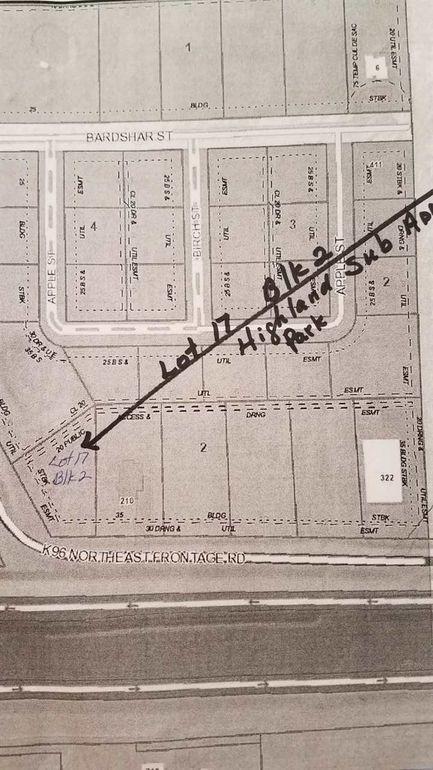 Blk 2 E K96 Northeast Frontage Rd Unit Highland Sub Add Park Lot 17 Mount Hope, KS 67108