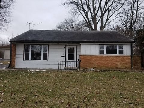Photo of 119 Peach St, Park Forest, IL 60466