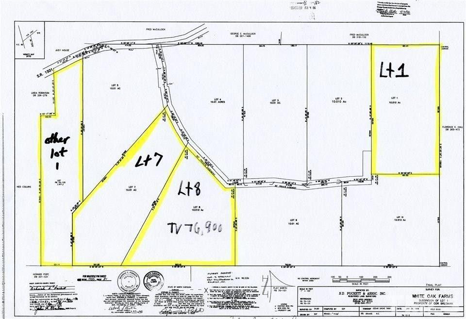White Oak Farm Rd Lot 7, Cedar Grove, NC 27231