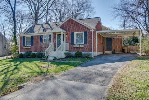 109 Rural Ave, Nashville, TN 37209