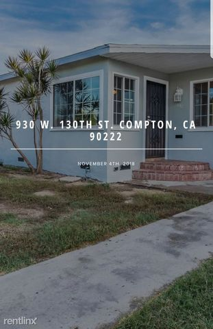 Photo of 932 W 130th St, Compton, CA 90222