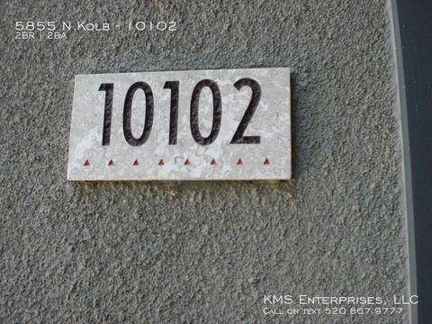 Photo of 5855 N Kolb Rd Unit 10102, Tucson, AZ 85750