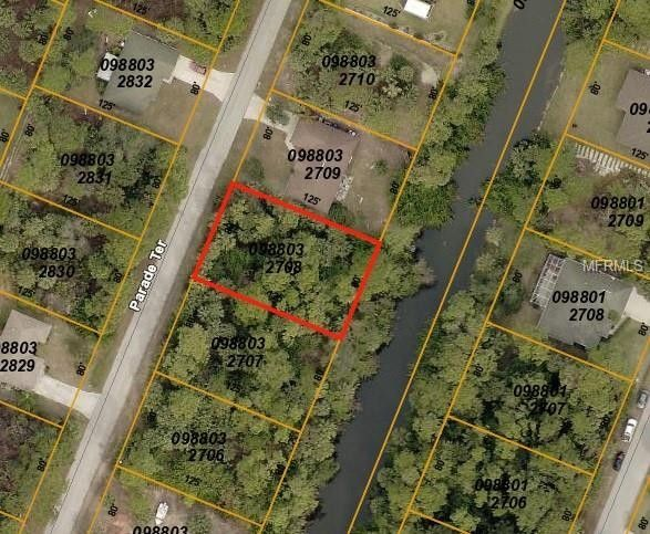 Map Of North Port Florida.Parade Ter North Port Fl 34286 Recently Sold Land Sold