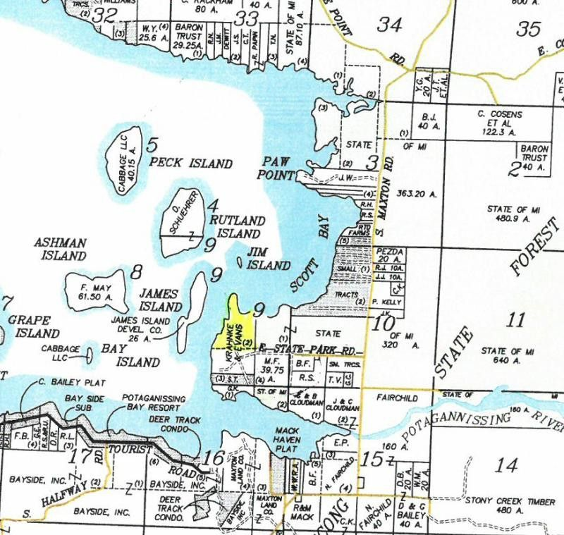 Stoney Pt Lot 2, Drummond Island, MI 49726 - Land For Sale and Real on