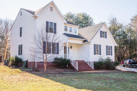 P O Of 5271 Chimney Springs Dr Goochland Va 23063 House For Sale