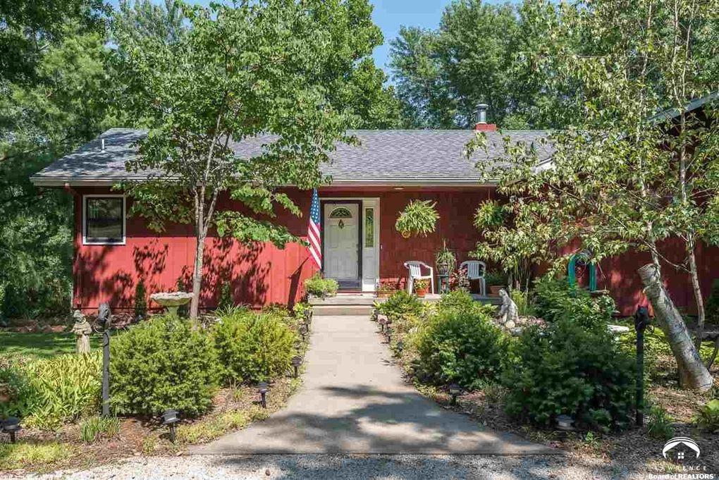 Charming 986 E 1587 Road 2 4 Acres Ests Unit Cedarwood, Lawrence, KS 66046