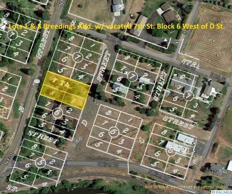Palouse Washington real estate bankruptcy