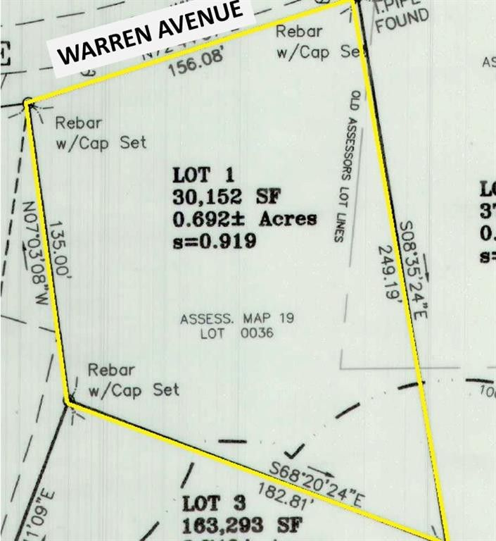 Warren Ave Lot 1 Swansea, MA 02777