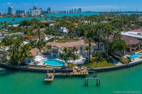 Rivo Alto, Miami Beach, FL Real Estate & Homes for Sale