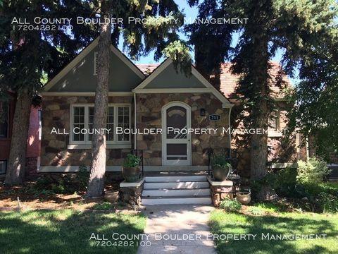 Photo of 711 Mapleton Ave, Boulder, CO 80304