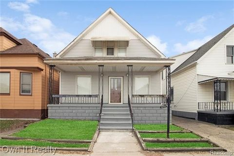 Photo of 3844 Evaline St, HamtramcK, MI 48212