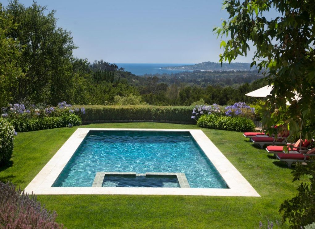 600 cima vista ln montecito ca 93108 home for rent for Pool design villa