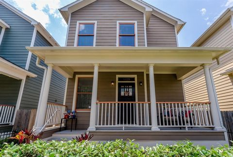 Photo Of 1025 W 15th 1 2 St Houston Tx 77008