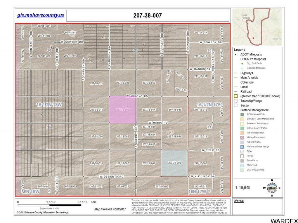 3467 Cameron Rd And Arroyo Rd, Yucca, AZ 86438