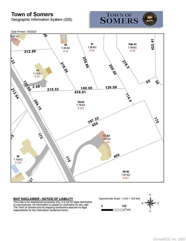 221 Gulf Rd Lot 1 Somers, CT 06071