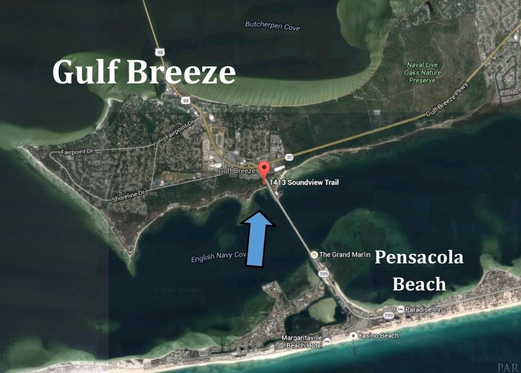 Gulf Breeze Florida Map.1413 Soundview Trl Gulf Breeze Fl 32561 Realtor Com