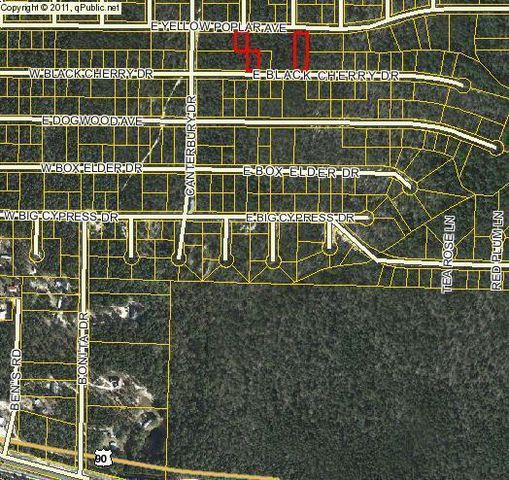 e yellow poplar ave lot 37 blk30 defuniak springs fl
