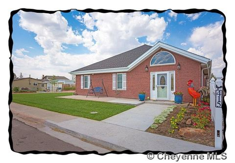 415 E 4th St, Pine Bluffs, WY 82082