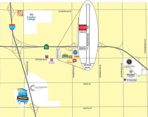 Artesia California Map.17127 Roseton Ave Artesia Ca 90701