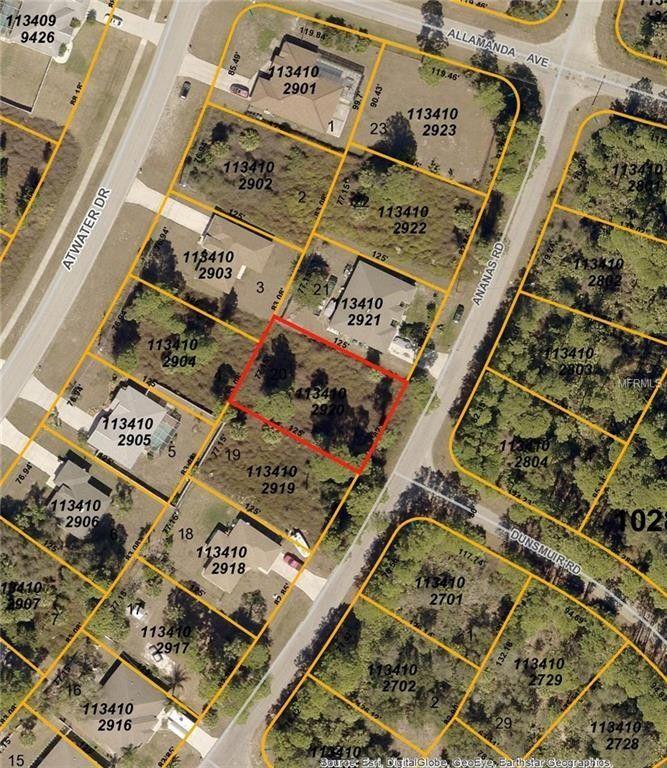 Map Of North Port Florida.Ananas Rd North Port Fl 34288 Realtor Com