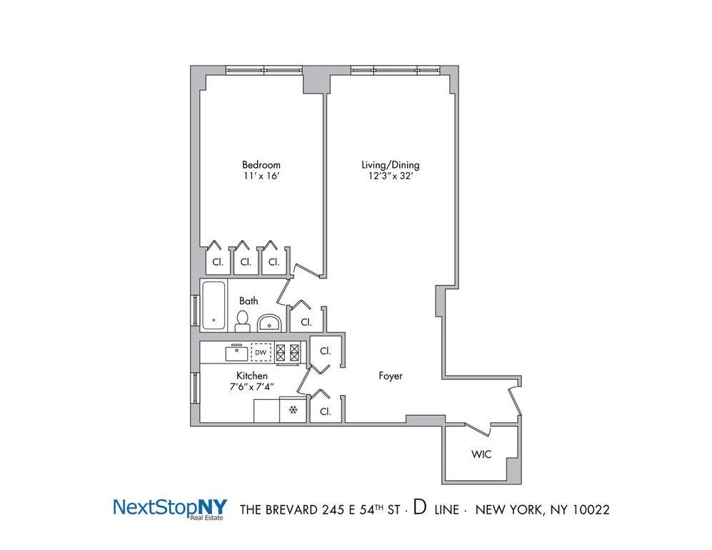 245 E 54th St Apt 4 D, New York, NY 10022