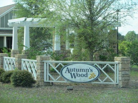 Autumns Wood Subdivision Brunswick GA 31525