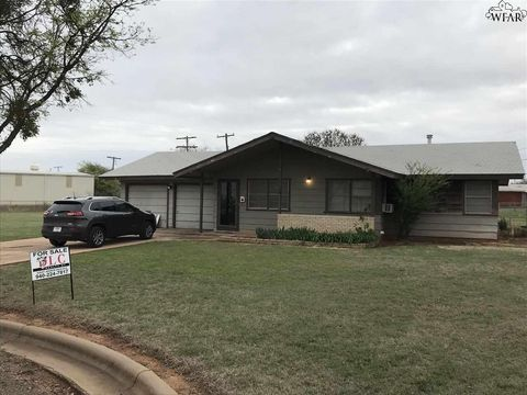 400 West Ave, Electra, TX 76360
