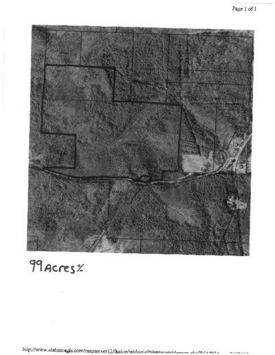 99 Acres On County Road 47 Wedowee AL 36278