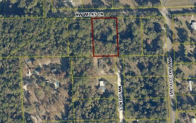 Map Of Lake City Florida.Nw Wilks Ln Lot 3 Lake City Fl 32055 Land For Sale And Real