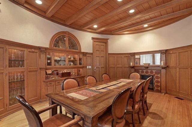 Paneld Dining Room