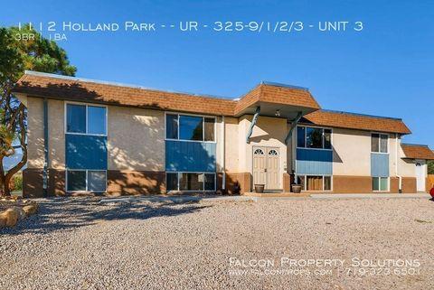 Photo of 1112 Holland Park Blvd Apt 3, Colorado Springs, CO 80907