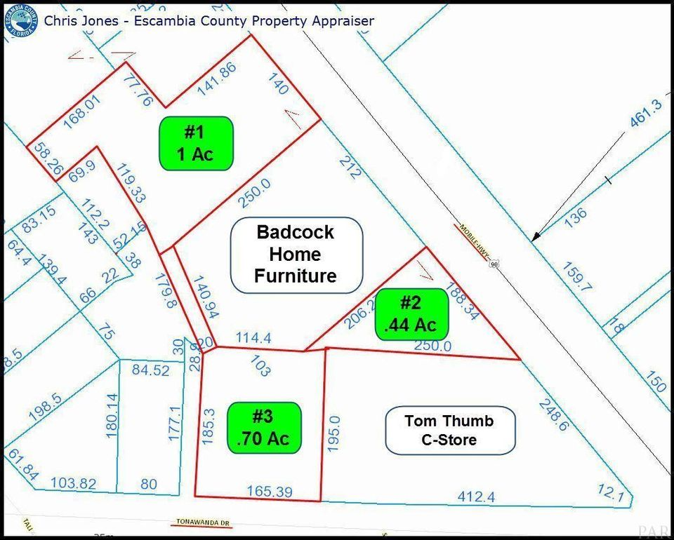 Escambia Property Tax Records