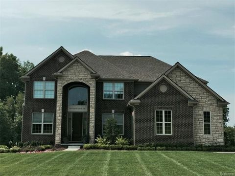 oxford mi new homes for sale