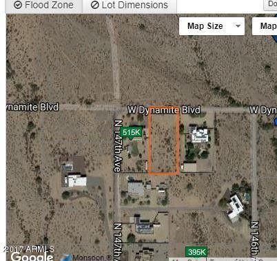 Lot Surprise, North Dynamite 147Th Avenue, AZ 85387
