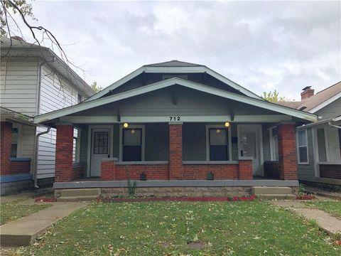 Photo of 710 N Bosart Ave, Indianapolis, IN 46201