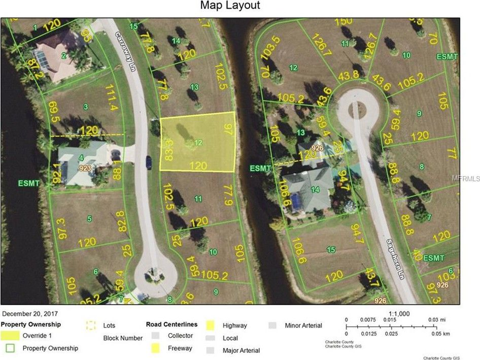 Carroway Ln Punta Gorda FL Land For Sale and Real