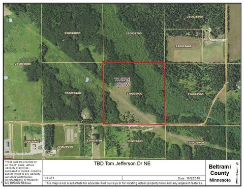 Tom Jefferson Dr Nw, Solway, MN 50109