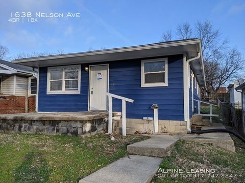 Photo of 1638 Nelson Ave, Indianapolis, IN 46203
