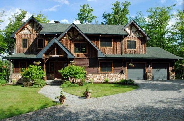 12 overlook way lake placid ny 12946 for Adirondack lake house plans
