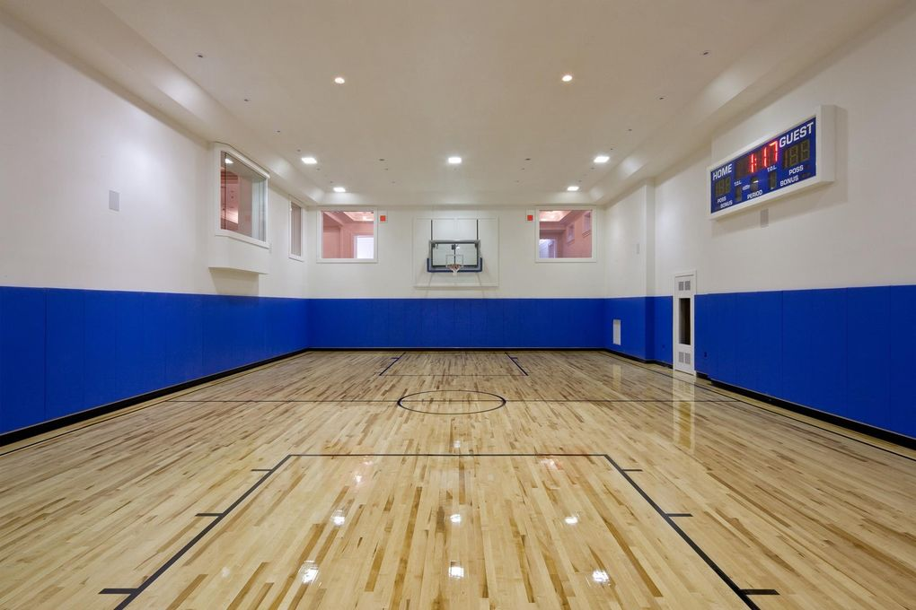 18 frick dr alpine nj 07620 Indoor half court basketball cost