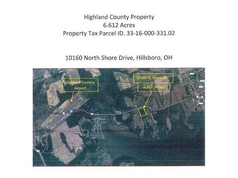 10160 N Shore Dr, Paint Township, OH 45133